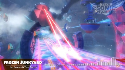 Team Sonic Racing - Frozen Junkyard OST -traileri