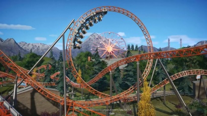 Planet Coaster - Carowinds Copperhead Strike Coaster
