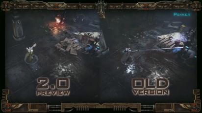 Warhammer 40,000: Inquisitor - Martyr - Patch 2.0 Combat -traileri