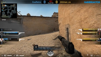 OMEN by HP Liga - Div 1 Round 6 - Ahlman_cs vs ExeRetro - Dust2.