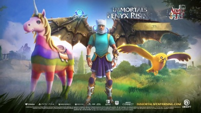 Immortals: Fenyx Rising - Adventure Time DLC Traileri