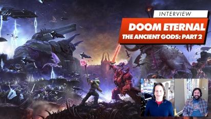 Doom Eternal DLC2 - Hugo Martin & Marty Stratton haastattelussa