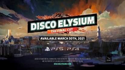 Disco Elysium - The Final Cut Date Reveal Traileri