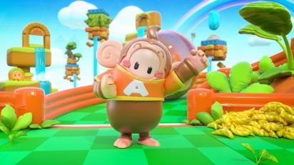 Fall Guys: Ultimate Knockout - Super Monkey Ball: Banana Mania Crossover Traileri