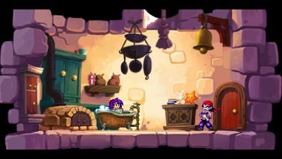 Shantae and the Pirate's Curse - Wii U Trailer