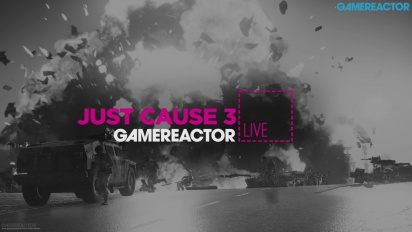 GR Live -uusinta: Just Cause 3 - 21.12.2015