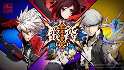 Blazblue Cross Tag Battle -kiusoittelutraileri