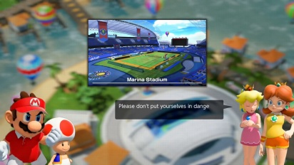 Mario Tennis Aces - Adventure Mode -traileri