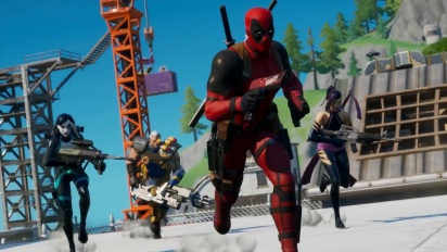 Fortnite - X-Force Joins Deadpool Traileri
