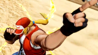 The King of Fighters XV - Terry Bogard Character -traileri