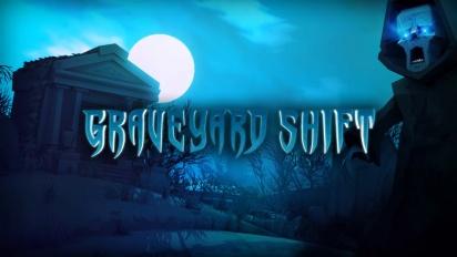 Phantom Halls - Graveyard Shift -kiusoittelutraileri