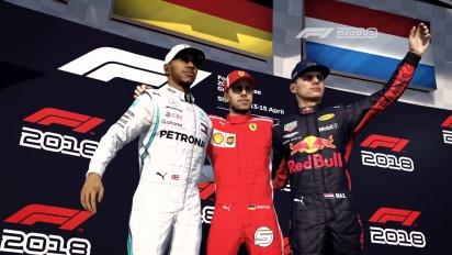 F1 2018 - julkaisun TV-mainos