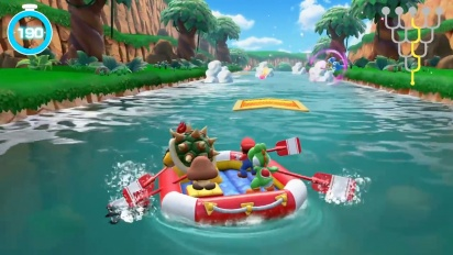 Super Mario Party - River Survival Mode -pelikuvaa