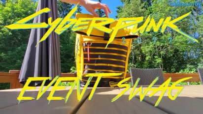 Cyberpunk 2077 - Event Swag Unboxing
