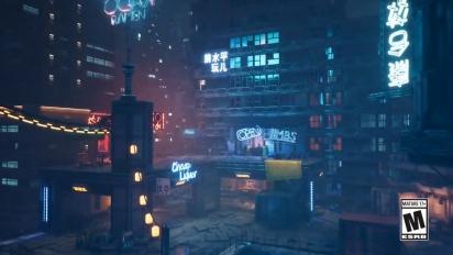 Ghostrunner - Gamescom 2020 -pätkä