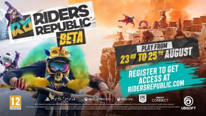 Riders Republic - Beta Anncouncement Traileri