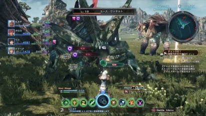 Xenoblade Chronicles X - Battle Gameplay (Japan)