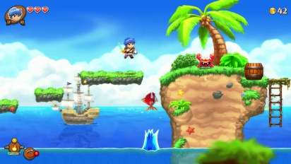 Monster Boy and the Cursed Kingdom - Gameplay Trailer