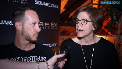 Deus Ex: Mankind Divided - pääjehujen juttusilla