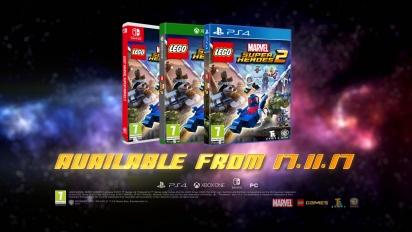Lego Marvel Super Heroes 2 - julkistustraileri