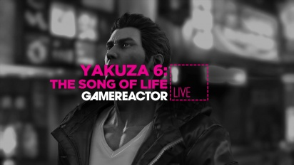 Yakuza 6: The Song of Life - Livestream Replay