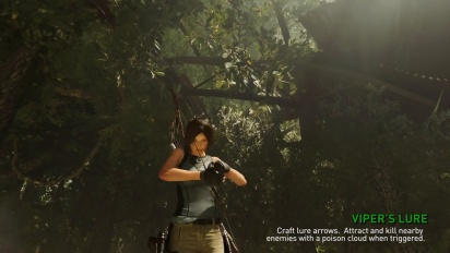 Shadow of the Tomb Raider - Smart and Resourceful -traileri
