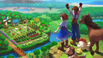 Harvest Moon: One World - ensitraileri