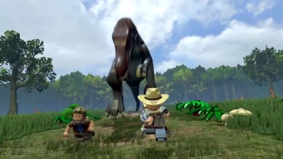 LEGO Jurassic World - Trailer