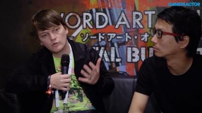 Sword Art Online: Fatal Bullet - Yosuke Futami haastattelussa