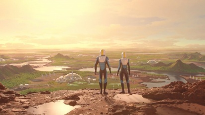 Surviving Mars - Green Planet -julkistustraileri