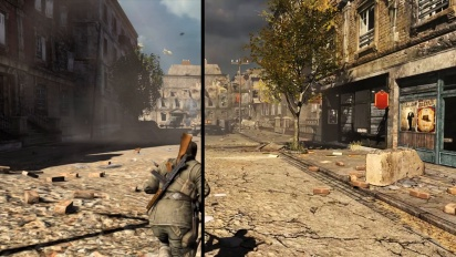 Sniper Elite V2 Remastered - vertailutraileri