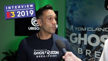 Ghost Recon: Breakpoint - Emil Daubon haastattelussa