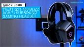 Nopea katsaus - Trust GXT 450 Blizz Headset