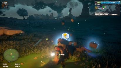 Rakennamme tilaa Yonder: The Cloud Catcher Chroniclesissa