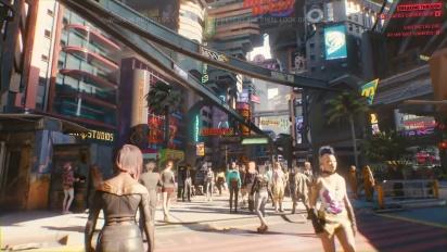 Cyberpunk 2077 - pelikuvaa