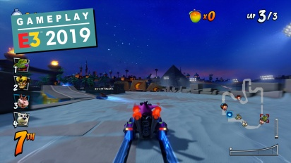 Crash Team Racing Nitro-Fueled - Jungle Boogie & Twilight Tour -pelikuvaa