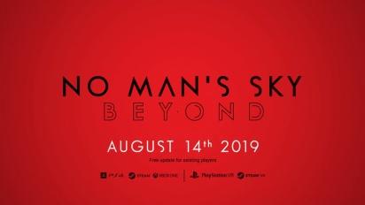 No Man's Sky - Beyond Release Date -pätkä