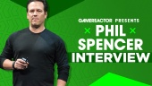 Phil Spencer - haastattelussa