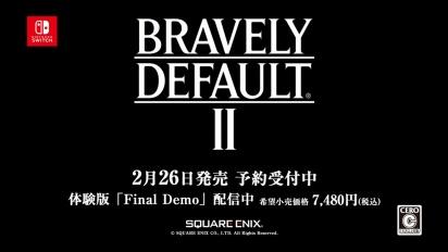 Bravely Default II - Introduction Video (japaniksi)