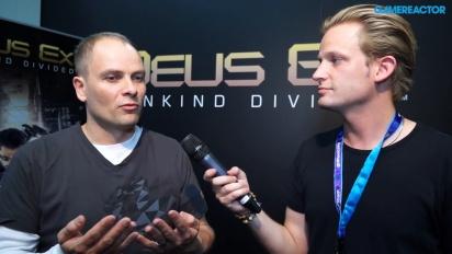 Deus Ex: Mankind Divided -haastattelu