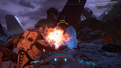 Mass Effect: Andromeda - Nvidia-pelikuvaa