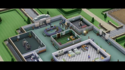 Two Point Hospital - Developer Vision -traileri