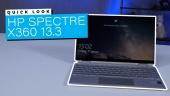Nopea katsaus - HP Spectre X360 13.3