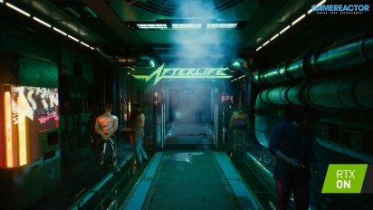 Cyberpunk 2077 - Scenes of Cyberpunk RTX Traileri