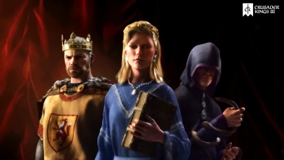 Crusader Kings III - julkaisutraileri