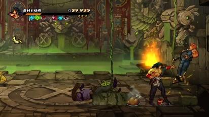 Streets of Rage 4 - Shiva Character Reveal Traileri
