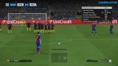Pro Evolution Soccer 2017 - FC Barcelona vs Manchester City Champions League Eve -pelikuvaa