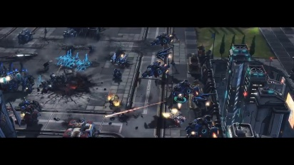Starcraft II - Wings of Liberty - free to play -traileri