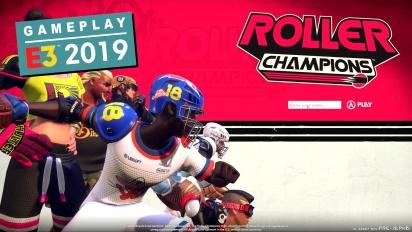 Roller Champions - E3-pelikuvaa