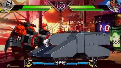 BlazBlue: Cross Tag Battle - 2.0-julkistustraileri